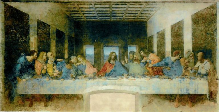 Leonardo_da_Vinci - The_Last_Supper